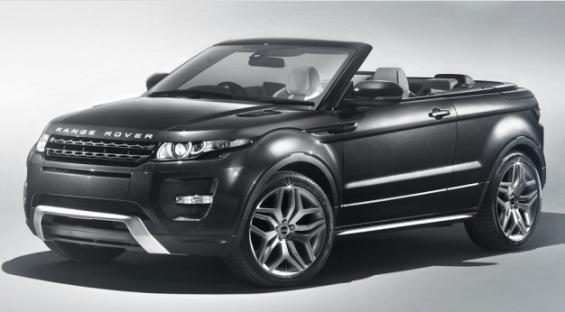 Range Rover Evoque Convertible: El primer SUV Convertible de su especie está muy cerca