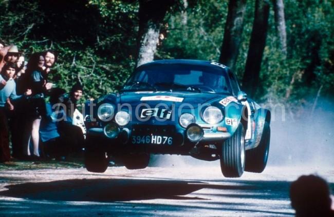 Rallye Montecarlo de históricos: Alpine-Renault con 5 Berlinetas A110