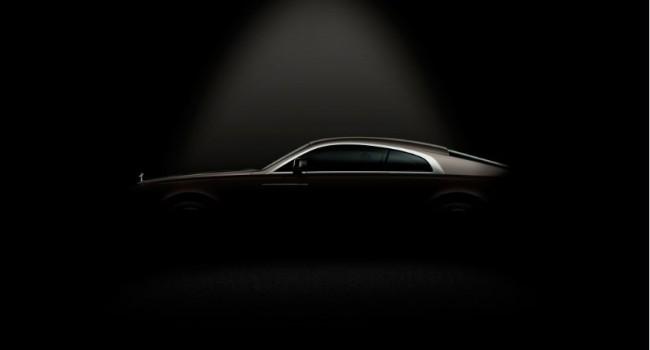 Desvelada la silueta del Rolls-Royce Wraith