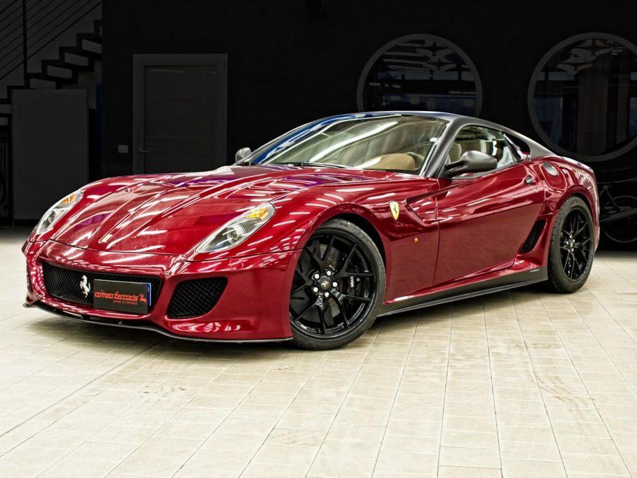 Romeo Ferraris prepara el Ferrari 599 GTO