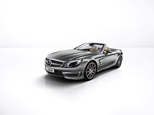Mercedes-Benz SL 65 AMG '45th Anniversary', cumpleaños a lo grande