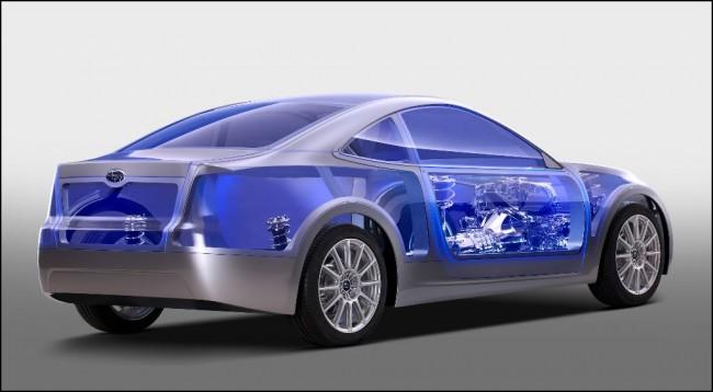 El nuevo deportivo de Subaru, el BRZ