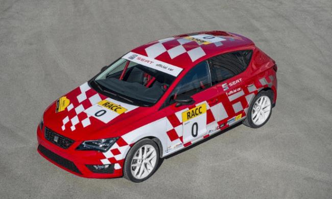 El nuevo Seat León se viste de Rally