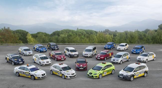 Seat pone el coche '0' en el Rally de Cataluña