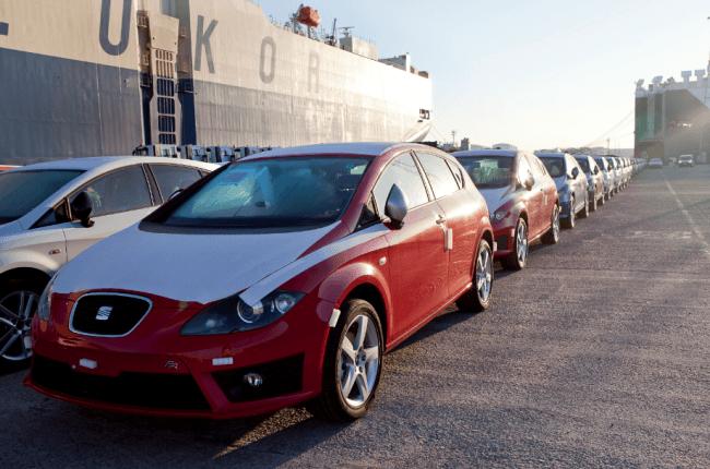Seat embarca los primeros vehículos hacia China
