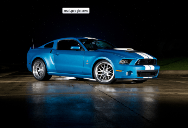 Un exclusivo Ford Shelby GT500 Cobra 2013 de 850CV, creado como homenaje a Carroll Shelby