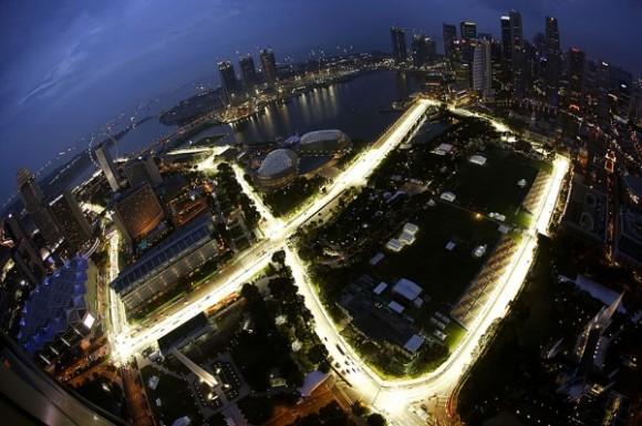 Fórmula 1 nocturna para el fin de semana