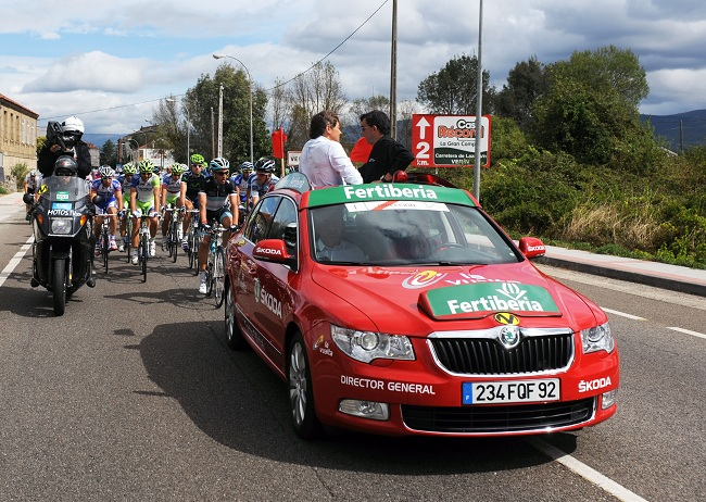 Skoda, Vehículo Oficial de la Vuelta a España 2012