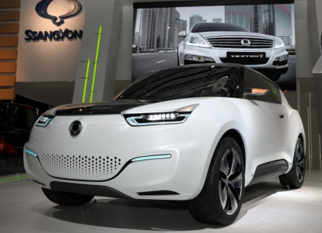 El SsangYong e-XIV es un concept eléctrico de autonomía extendida