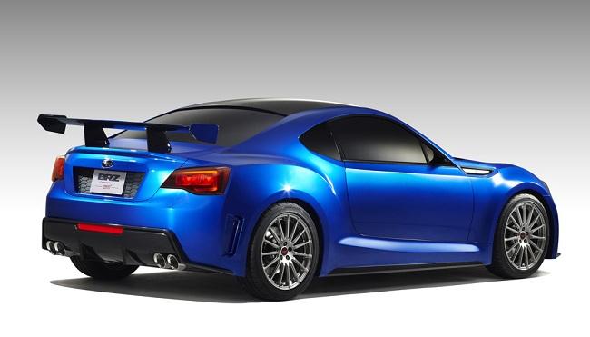 Primera imagen oficial del Subaru BRZ Concept STI