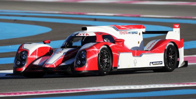 Toyota Racing se inscribe en el Campeonato Mundial de Resistencia de la FIA