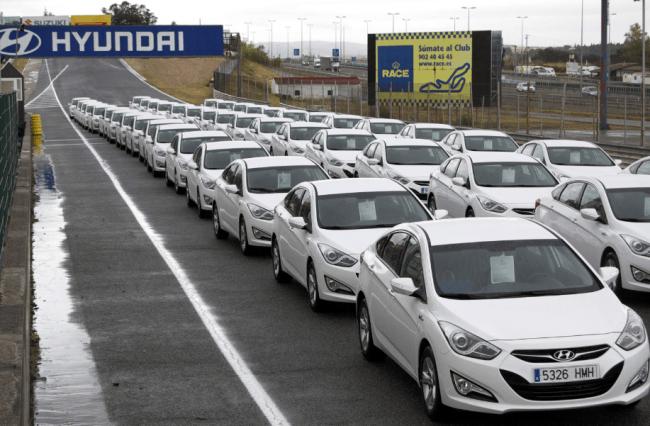 Tedec Meiji Adquiere una flota de 71 Hyundai i40