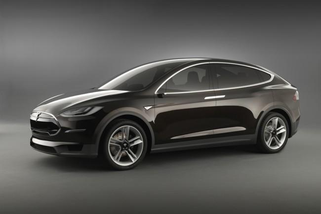 Tesla Model X: SUV eléctrico con alas de gaviota