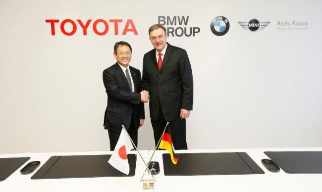 BMW y Toyota renuevan su acuerdo de colaboración