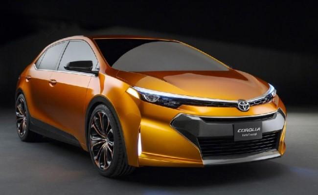 Toyota Corolla Concept Furia al descubierto