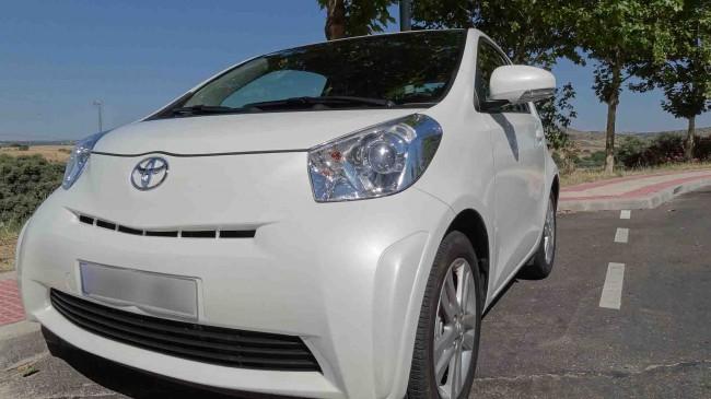Prueba Toyota iQ (Parte I)