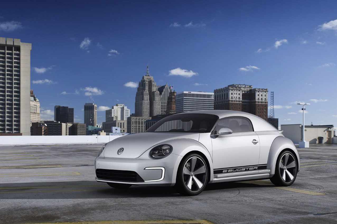 Se filtra en Detroit el Volkswagen E-Bugster Concept