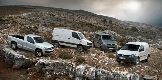VW vehículos comerciales: Seguro que hay uno para tí