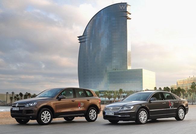Volkswagen, vehículo oficial de la Gala Contra el Sida 2011