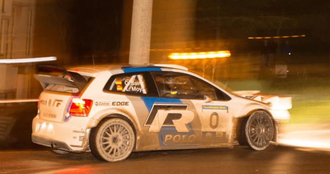Carlos Sainz y Luis Moya estrenaron en San Marino el Polo R WRC