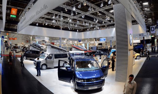 Volkswagen vehículos comerciales en el Salón de la Caravana 2012