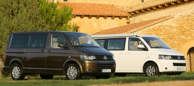 Volkswagen vehículos comerciales se supera