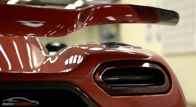 Koenigsegg: Un trabajo de pintura de más de un millón de euros