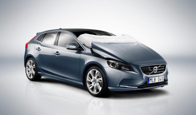 Volvo nos presenta su nuevo Airbag para peatones