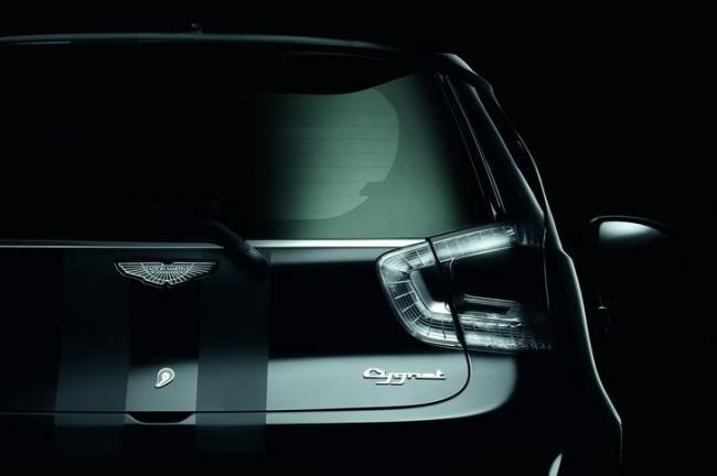 Pequeñito pero matón: Aston Martin Cygnet
