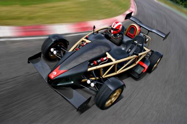 Ariel Atom V8: el kart que supera al Veyron