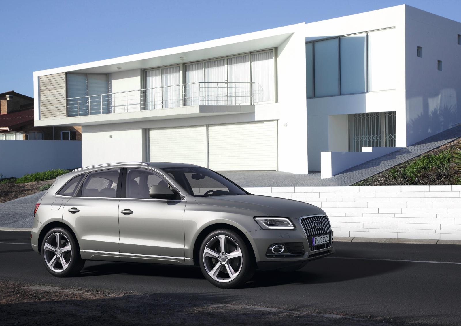 Audi muestra el remodelado Q5 2012