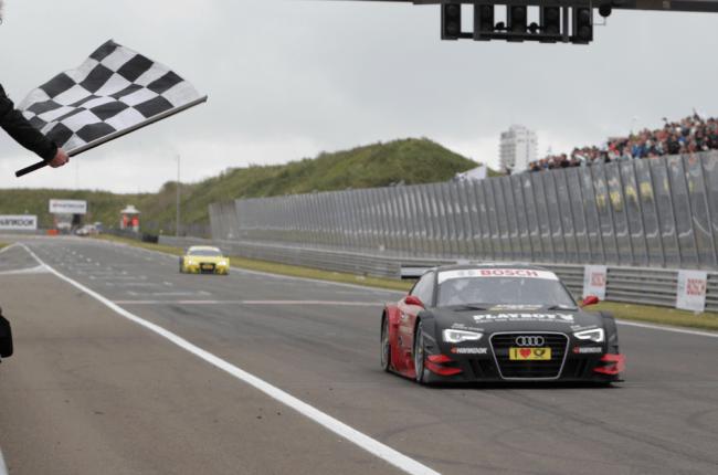 Triplete de Audi en Zandvoort