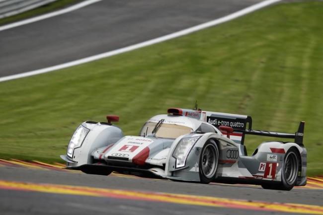 Propulsión eléctrica y tracción a las 4 ruedas: Audi R18 E-TRON Quattro