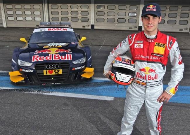 Miguel Molina estrena su Audi A5 DTM