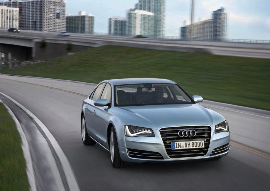 El Buque insignia de Audi, ahora menos contaminante: A8 Hybrid