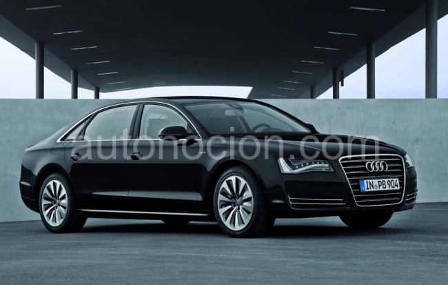 Nuevo Audi A8 L Hybrid, a partir de Enero
