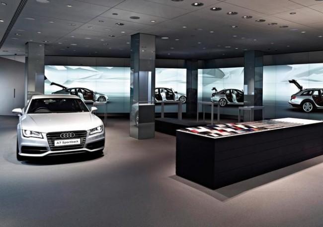 """Audi City: El primer """"Ciberconcesionario"""""""