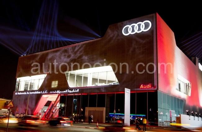 El concesionario de Audi más grande del mundo está en Dubai