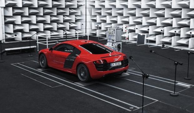 El Audi R8 e-tron reproducirá el ruido de motor mediante un altavoz