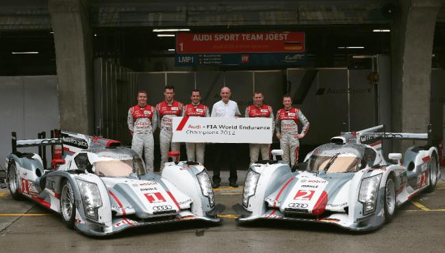 Audi gana el Campeonato del Mundo FIA de Resistencia