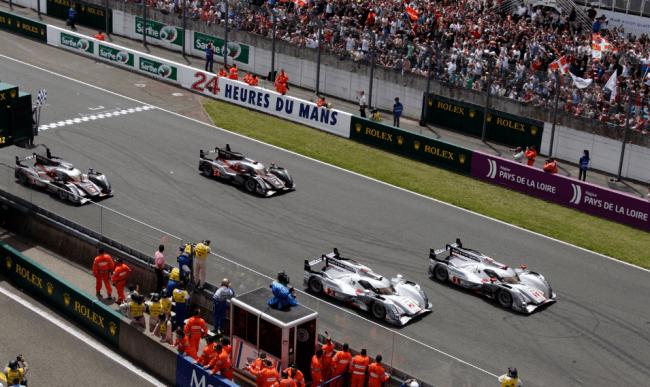 Audi consigue la primera victoria de un híbrido en las 24 horas de Le Mans