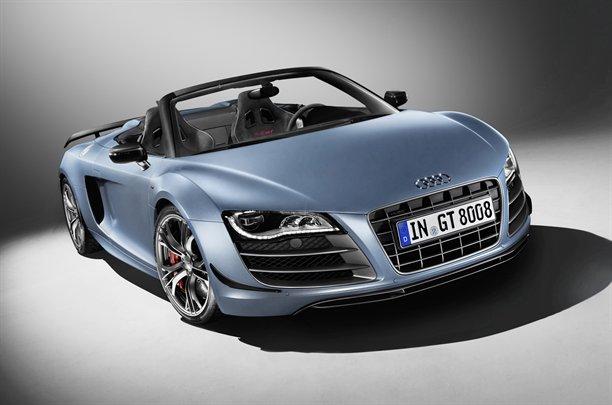 Audi pone a la venta en España el R8 GT Spyder