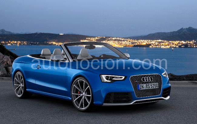 Audi RS 5 Cabrio: Potente, elegante y muy alemán