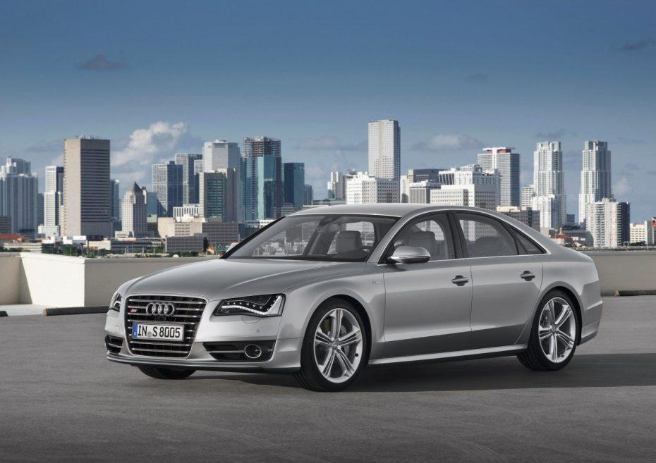 Imágenes e información oficial del Audi S6, S7 y S8, justo antes de Frankfurt