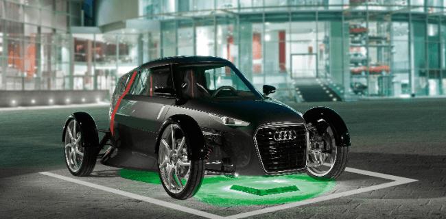 Audi wireless charging: la manera germana de cargar los coches eléctricos