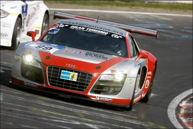 Los planes del Audi R8 LMS