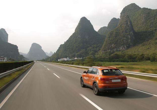 El Audi Q3 se va a la China