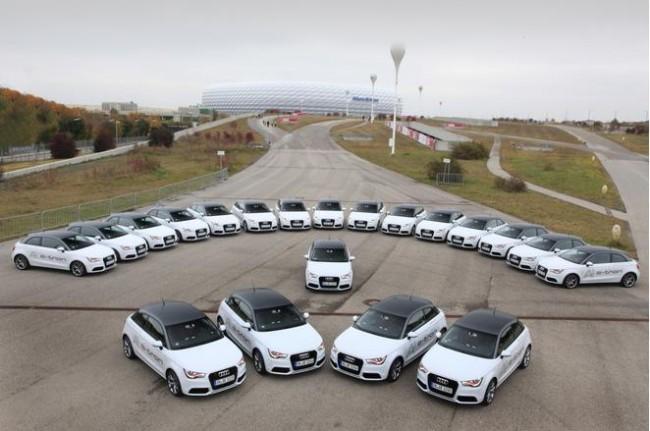 ¡Ponte a prueba!: Audi A1 e-tron