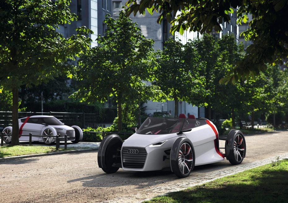Nuevas imágenes del Audi Urban Concept antes del Salón de Francfort