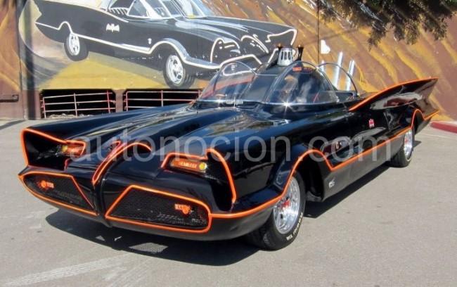 El Batmovil Original de 1966 vendido por 3.47 millones de euros